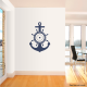 Anchor & Ship Wheel Wall Decal