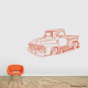 Classic Ford Pickup Truck Wall Decal