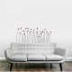 Dotted Flowers Wall Decal
