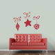 Hanging Ornaments Wall Decal