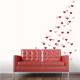 Heart-Fetti Wall Decal