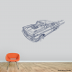 Hot Rod Bel Air Wall Decal