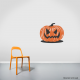 Jack-O-Lantern Wall Decal