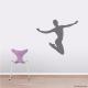 Jumping Ballerina Wall Decal