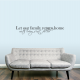 Let Our Family Return Home... Wall Art Decal