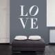 Love Sculpture Wall Art Decal