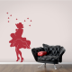 Marilyn Monroe White Dress Wall Decal