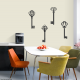 Old Keys - Wall Decal