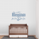 Our Greatest Blessings Call Us Grandma & Grandpa Wall Art Decal