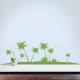 Palm Tree Isle Wall Decal