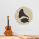 Phonograph Wall Decal