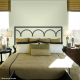 Provence Iron Headboard Wall Decal