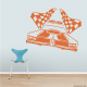 Racing Car Wall Decal