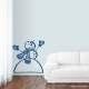 Snowman Wall Decal