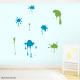 Splash of Colour Wall Decals