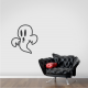 The Friendly Ghost Wall Decal