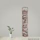 Tiki Totem 2 Wall Art Decal