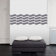 Wall Waves Solid Wall Decal