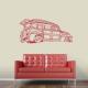 Woodie Wagon Wall Decal