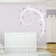 Large Flower Swirl Wall Decal