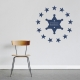 Star Sheriff Wall Decal