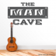 Man Cave Wall Decal Decor