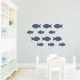 Fishies Wall Art Decal