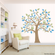 Bright Owl Tree Decal