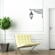 Corner Lamp Wall  Decal | Wallums