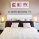 Do Your Best And Forget The Rest Wall Quote Decal