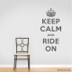 Ride On Wall Quote Decal