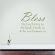 Bless The Food Wall Quote Decal | Wallums Wall Decor