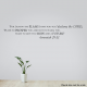 Jeramiah 29:11 Wall Quote Decal