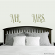 Mr and Mrs Decal