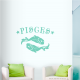 Pisces Wall Art Decal