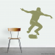 Skateboarder Ollie Wall Decal