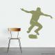 Skateboarder Ollie Wall Decal