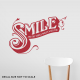 Smile World Wall Quote Decal