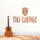 Tiki Lounge Decal