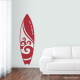 Wave Surfboard Vinyl Decal