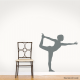 Yoga Dancer Decal