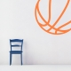 Basketball Wall Art Decal