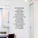 In This House Wall Quote Decal