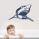 Shark Bathroom Wall Decal