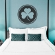 Shamrock Circle Wall Decal