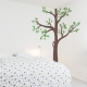 Corner Tree Wall Decal