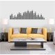 Equalizer Black Wall Decal