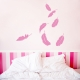 Falling Feathers Wall Decal
