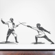 Fencers Wall Art Decal