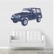 Jeep Wrangler Wall Decal